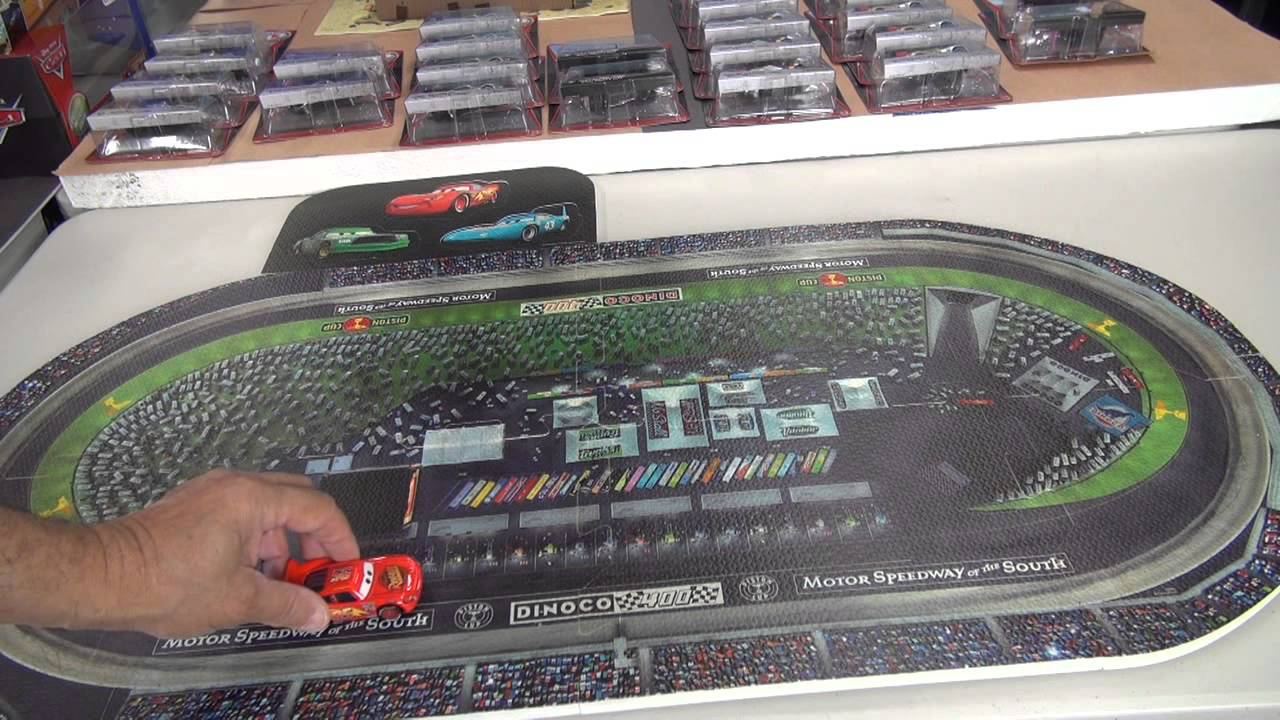 Race Track Play Mat Disney KMart - YouTube
