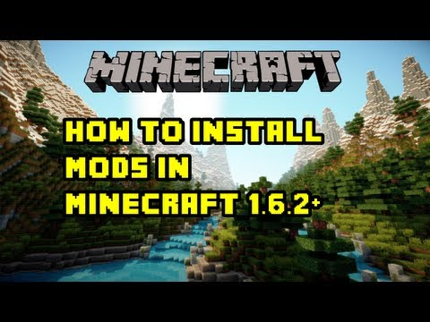 How to Install Mods in Minecraft 1.7.2 + - Xray - Optifine - Hacks [HD]