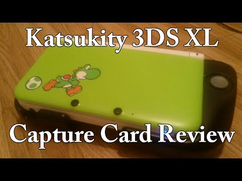 Katsukity 3DS XL Capture Card Review