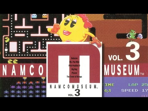 CGR Undertow - NAMCO MUSEUM: VOLUME 3 review for PlayStation