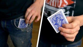 CARD TO POCKET TRICK | Card Magic Tricks - Tutorial | ft. DHIRAJ JAIN