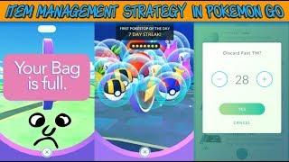 Item Management Strategy For Pokemon Go