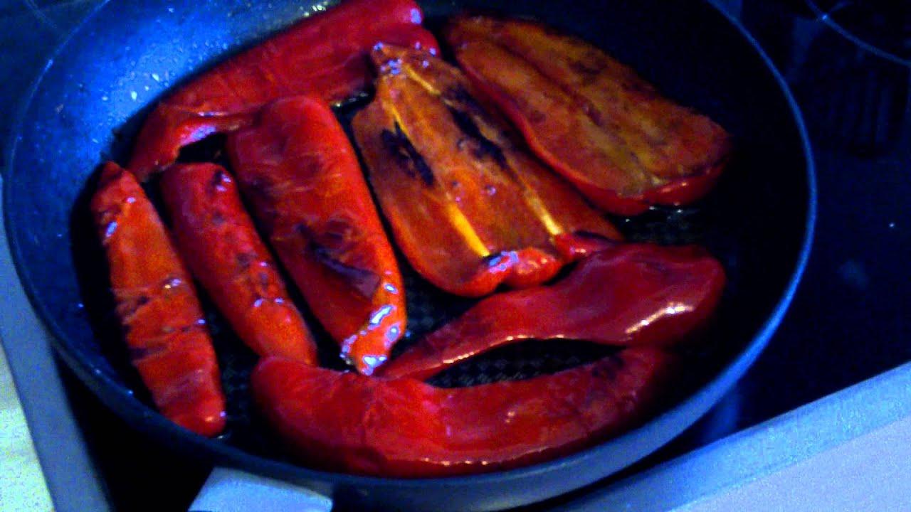рецепт жареного перца на зиму с фото