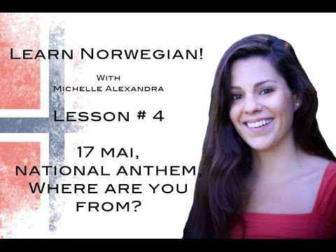 Learn Norwegian! Lesson #4