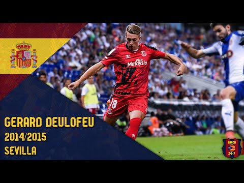 Gerard Deulofeu 2014/2015 ● Sevilla
