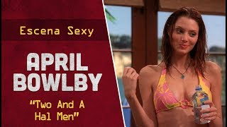 "April Bowlby en ""Two And A Half Men"" 
