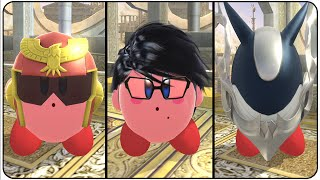 Super Smash Bros. Wii U All Kirby Transformations