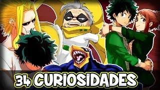 34 Curiosidades de BOKU NO HERO ACADEMIA | Anime | Manga en Español