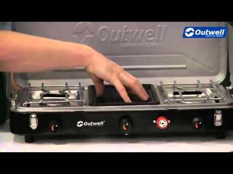 Outwell Chef Cooker Premium 3 Burner Stove - CampingWorld.co.uk