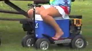 Cooler Esky Scooter
