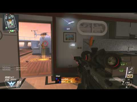 Insane Black Ops 2 Sniper Gamplay 81-24 Is Sniping Biased?