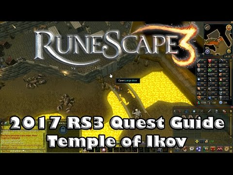 RS3 Quest Guide - Temple of Ikov - 2017(Up to Date!)