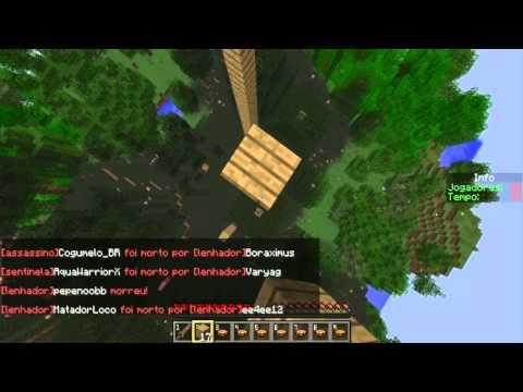 Minecraft Server Hunger games 1.6.4 sem lag