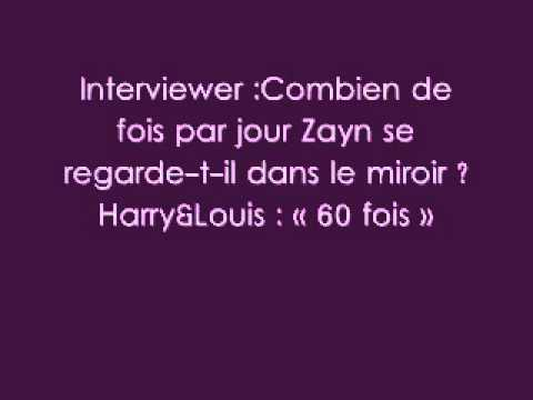 French Facts - One Direction.