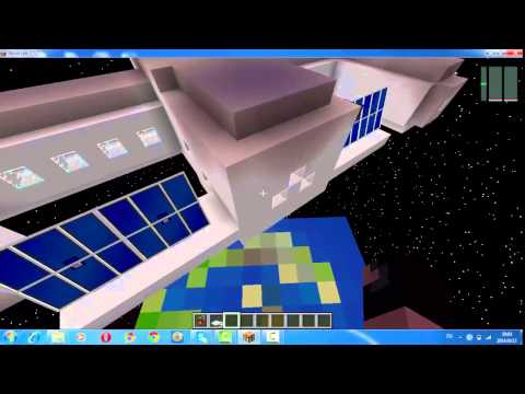 Minecraft galacticraft 1.7.2-1.7.10 mod showcase