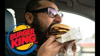 Jag testar Burger Kings Chili Cheese Bacon King och Chili Cheese Halloumi King