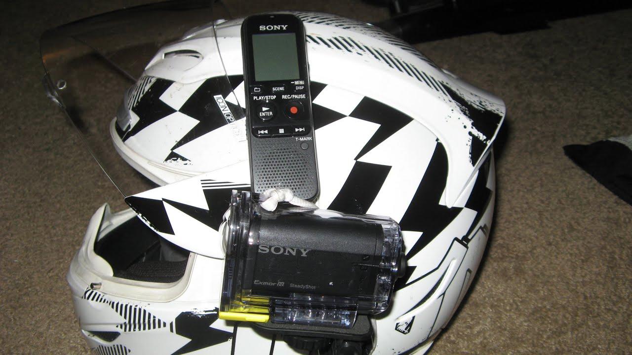 Helmet Cam Setup Sony As-15 Helmet Cam Setup