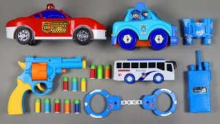 Realistic ACP Bulldog Revolver Toy Sized 1:1 Scale 45 | Police Cars Police Bus Toy for Kids Children