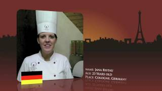 Watch Jana Ristau from Germany prepare for the World Chocolate Masters Final 2011