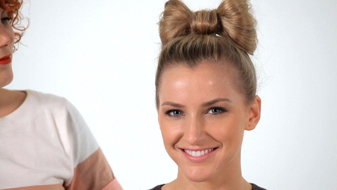 How To Make A Hair Bow Hair Tutorials Youtube