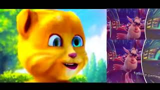 Talking Cat Ginger and Booba colors Baby Game Kids