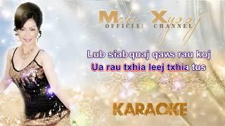 Maiv Xyooj - 8 9 Lub Siab with Lyrics (New Karaoke Song)