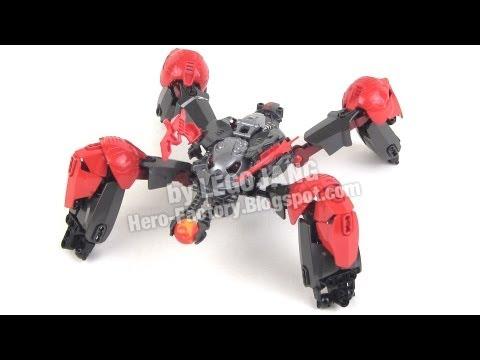 LEGO Hero Factory MOC: Ultra Arachnix Drone [breakout]