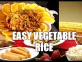 Easy Vegetable Rice Make With Love New Recipe  | Chef Ricardo Cooking