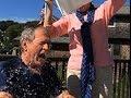 Pres. George W. Bush Takes Ice Bucket Challenge