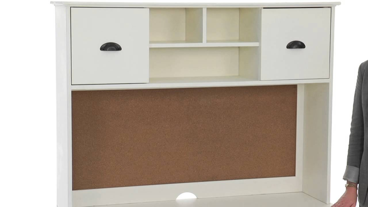 Maximize Study Space With Space Saving Desk And Hutch For