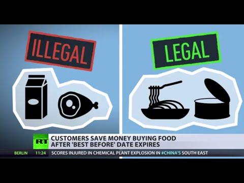 Best Before Date: UK business man turns supermarket 'trash' to cash