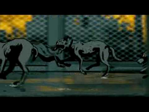 Boaz and the dogs (Waltz with Bashir)