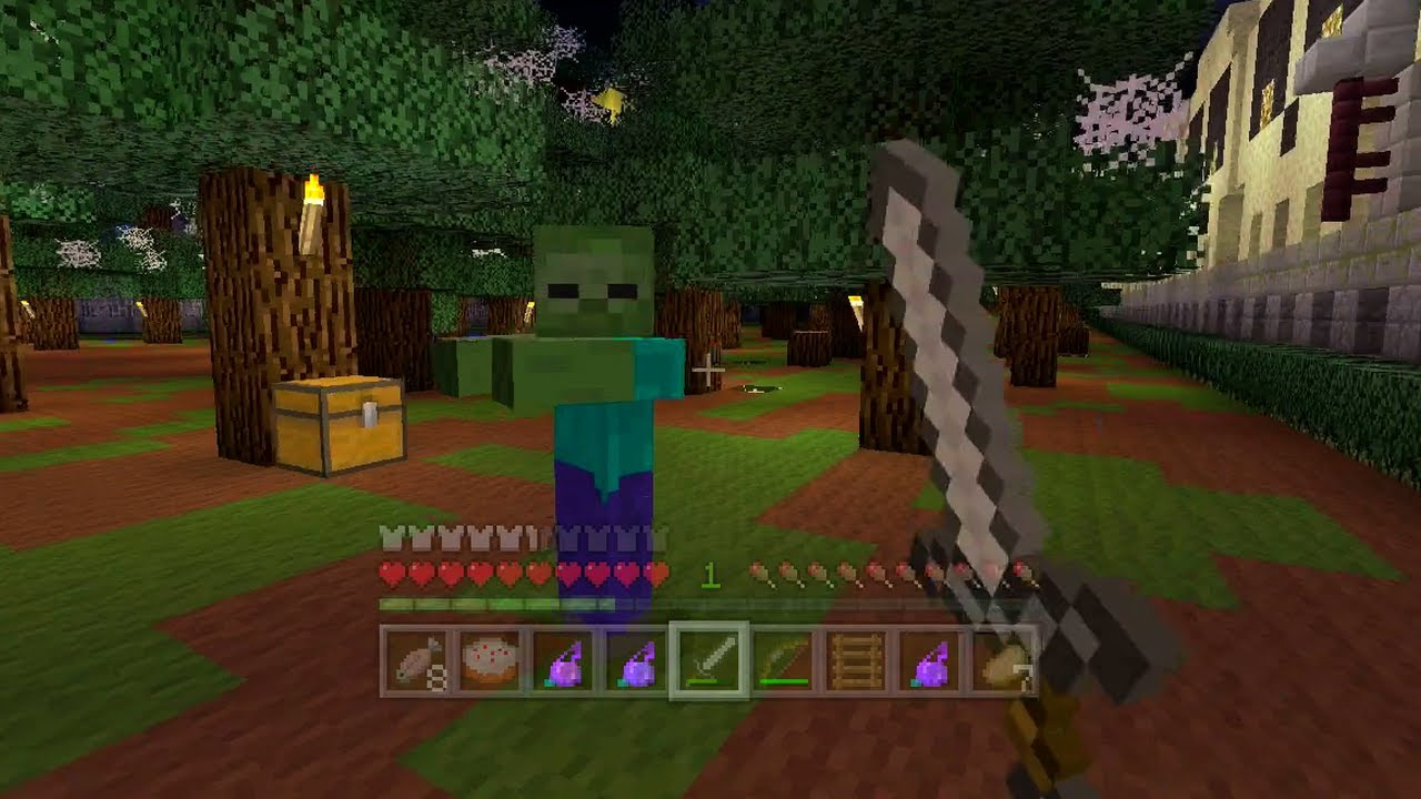 Minecraft Xbox Halloween