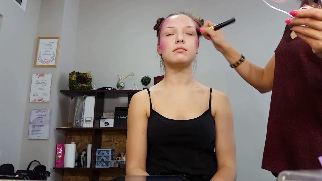 Make up коррекция лица