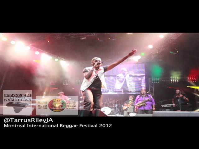 Tarrus Riley  - Montreal International Reggae Festival 2012  Performance footage