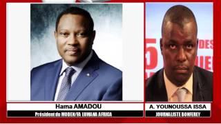 TV BONFEREY -  5 DERNIÈRES MINUTES - INVITE HAMA AMADOU