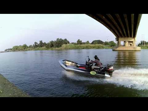 test rab boat 440 with 40 hp 089-2879786