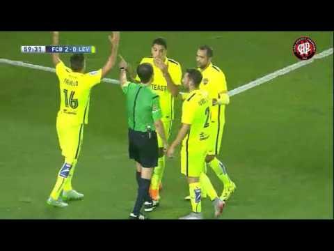Barcelona 4 x 1 Levante 20/09