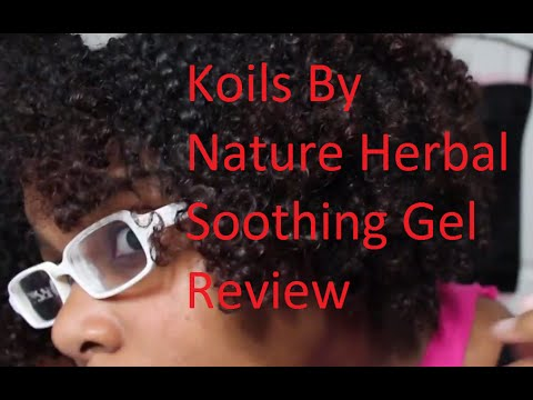 Wash N Go Using Koils By Nature Herbal Soothing Gel