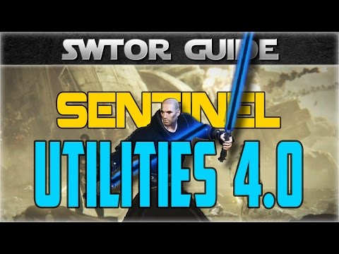 SWTOR Class Guide: Jedi Sentinel Utilities Overview (Patch 4.0)