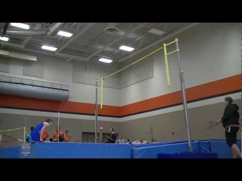 Autumn Conn Burlington Central High School Girls Pole Vaulter Clears 12 Feet