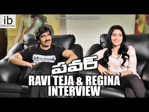 Ravi Teja & Regina interview about power success - idlebrain...