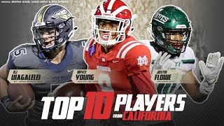 Top 10 Players from California