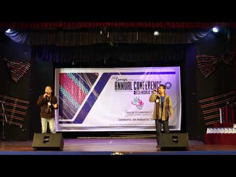 Lalzom & Muan - Siamsin Shillong Conference cum Freshers 2018