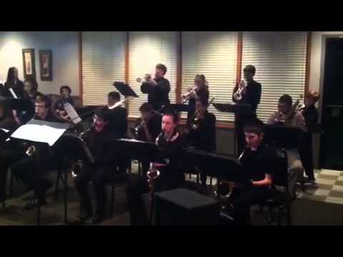 Iola Middle School Jazz Band Video #1