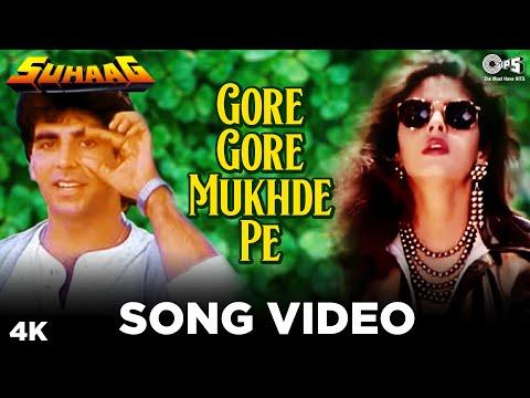 Gore Gore Mukhde Pe - Suhaag | Akshay Kumar & Nagma | Udit Narayan...