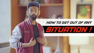 BYN : How To Get Out Of Any Situation ! Feat. Mumbiker Nikhil & BeerBiceps