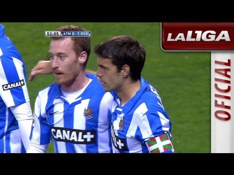 Resumen de Atlético de Madrid (0-1) Real Sociedad - HD - Highlights