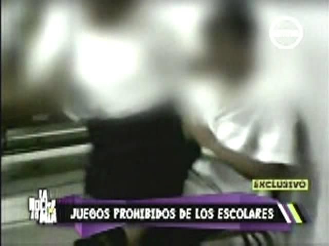 Juegos Prohibidos en Escolares - La Noche es Mía - CEDRO