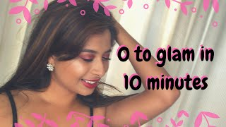 0 to glam in 10 minutes | Chermel's World